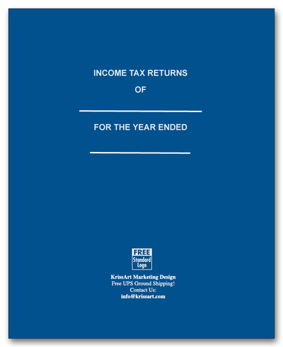 income tax return folders p575-b